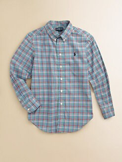 Ralph Lauren - Boy's Plaid Blake Shirt