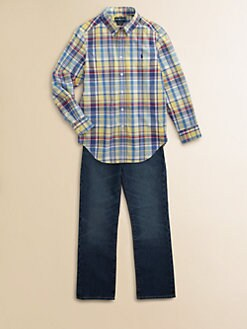 Ralph Lauren - Boy's Plaid Shirt