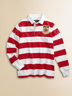 Ralph Lauren - Boy's Striped Rugby Shirt