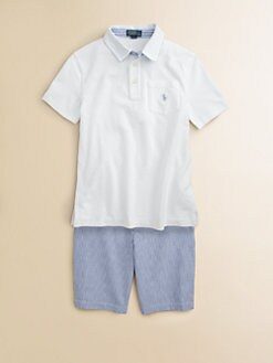 Ralph Lauren - Boy's Mesh Polo Shirt