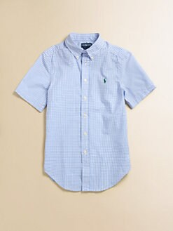 Ralph Lauren - Boy's Blake Gingham Shirt