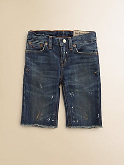 Ralph Lauren - Toddler's & Little Boy's Cutoff Denim Shorts