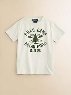 Ralph Lauren - Toddler's & Little Boy's Polo Camp Tee