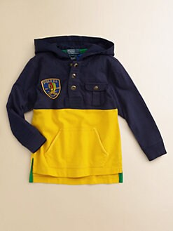 Ralph Lauren - Toddler's & Little Boy's Rugby Hoodie