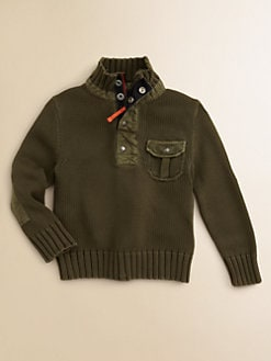 Ralph Lauren - Toddler's & Little Boy's Mockneck Sweater