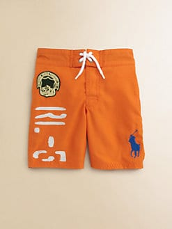 Ralph Lauren - Toddler's & Little Boy's Sanibel Swim Trunks