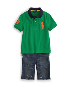 Ralph Lauren - Toddler's & Little Boy's Big Pony Polo Shirt