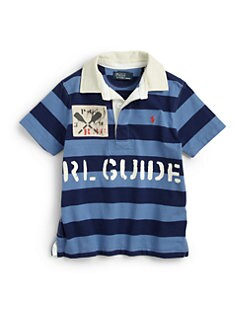Ralph Lauren - Toddler's & Little Boy's Rugby Polo Shirt