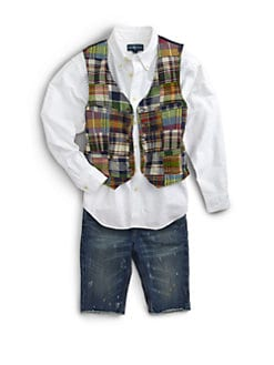 Ralph Lauren - Boy's Madras Vest