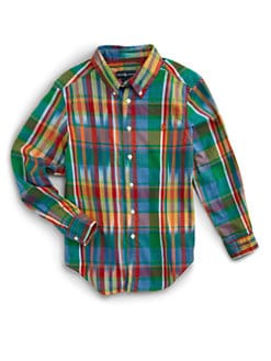 Ralph Lauren - Boy's Madras Blake Shirt