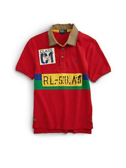 Ralph Lauren - Boy's Novelty Mesh Polo Shirt