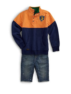 Ralph Lauren - Boy's Mockneck Pullover