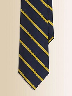Ralph Lauren - Boy's Striped Silk Tie