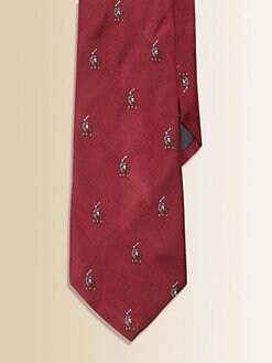 Ralph Lauren - Boy's Silk Pony Tie