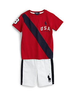 Ralph Lauren - Toddler Boy's USA Tee