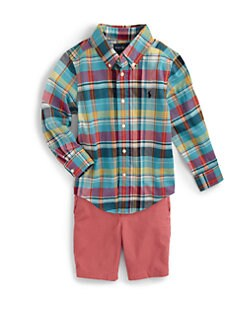 Ralph Lauren - Toddler's & Little Boy's Madras Shirt