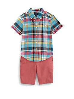 Ralph Lauren - Little Boy's Plaid Blake Shirt