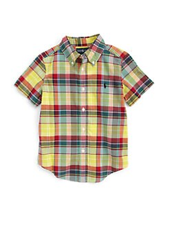 Ralph Lauren - Little Boy's Madras Blake Shirt