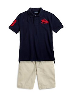 Ralph Lauren - Boy's Dual Match Polo Shirt