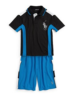 Ralph Lauren - Boy's Pieced Soft Touch Polo Shirt