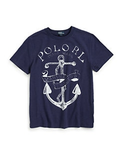 Ralph Lauren - Boy's Anchor Tee