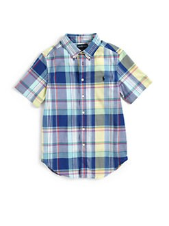 Ralph Lauren - Boy's Blake Plaid Shirt