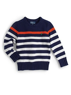 Ralph Lauren - Toddler's & Little Boy's Striped Sweater