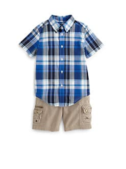 Ralph Lauren - Toddler's & Little Boy's Plaid Blake Shirt