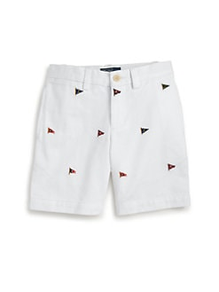 Ralph Lauren - Toddler's & Little Boy's Bradbury Flag Shorts