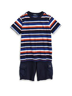 Ralph Lauren - Toddler's & Little Boy's Striped Tee