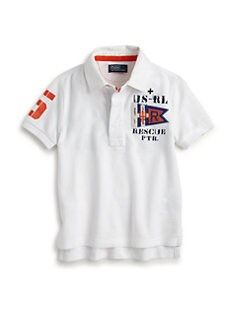 Ralph Lauren - Toddler's & Little Boy's Rugby Shirt