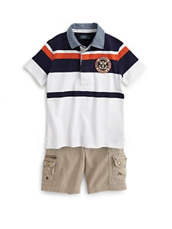 Ralph Lauren - Toddler's & Little Boy's Novelty Rugby Shirt