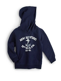Ralph Lauren - Toddler's & Little Boy's Nautical Hoodie