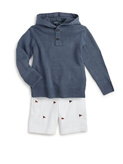 Ralph Lauren - Toddler's & Little Boy's Knit Linen Pullover