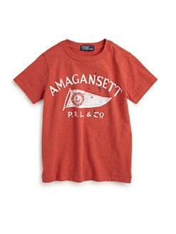 Ralph Lauren - Toddler's & Little Boy's Amagansett Tee