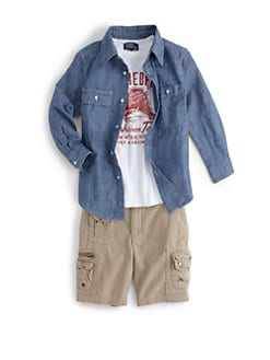 Ralph Lauren - Toddler's & Little Boy's Matlock Chambray Shirt