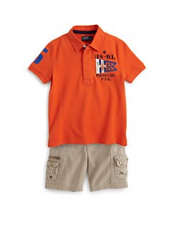 Ralph Lauren - Toddler's & Little Boy's Mesh Polo Shirt