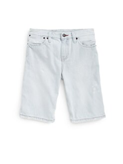 Ralph Lauren - Boy's Railroad Striped Denim Shorts
