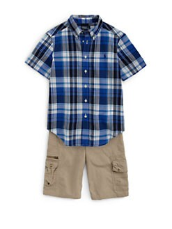 Ralph Lauren - Boy's Plaid Poplin Shirt