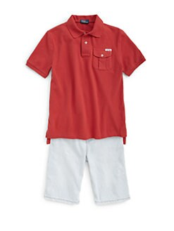 Ralph Lauren - Boy's Military Polo Shirt