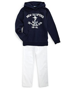 Ralph Lauren - Boy's Nautical Fleece Hoodie