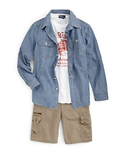 Ralph Lauren - Boy's Matlock Chambray Shirt