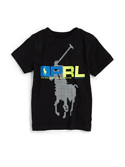 Ralph Lauren - Toddler's & Little Boy's Active PRL Tee