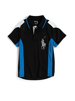 Ralph Lauren - Toddler's & Little Boy's Pieced Soft Touch Polo Shirt