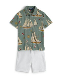 Ralph Lauren - Toddler's & Little Boy's Sailboat Polo Shirt