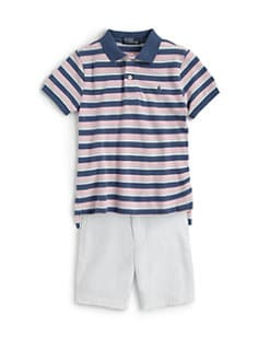 Ralph Lauren - Toddler's & Little Boy's Striped Polo Shirt