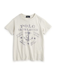 Ralph Lauren - Toddler's & Little Boy's Anchor Tee