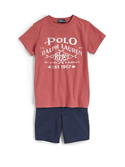 Ralph Lauren - Toddler's & Little Boy's Summer Tee