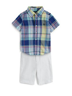 Ralph Lauren - Toddler's & Little Boy's Blake Plaid Shirt