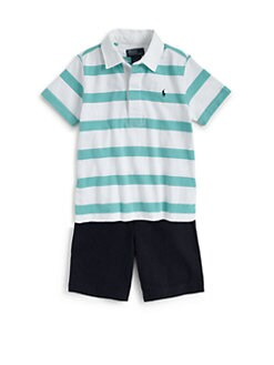 Ralph Lauren - Toddler's & Little Boy's Striped Rugby Shirt